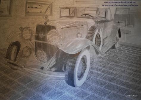 Carro antigo finalizado